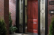 Wood Doors: Simple But Enchanting : Front Door Open