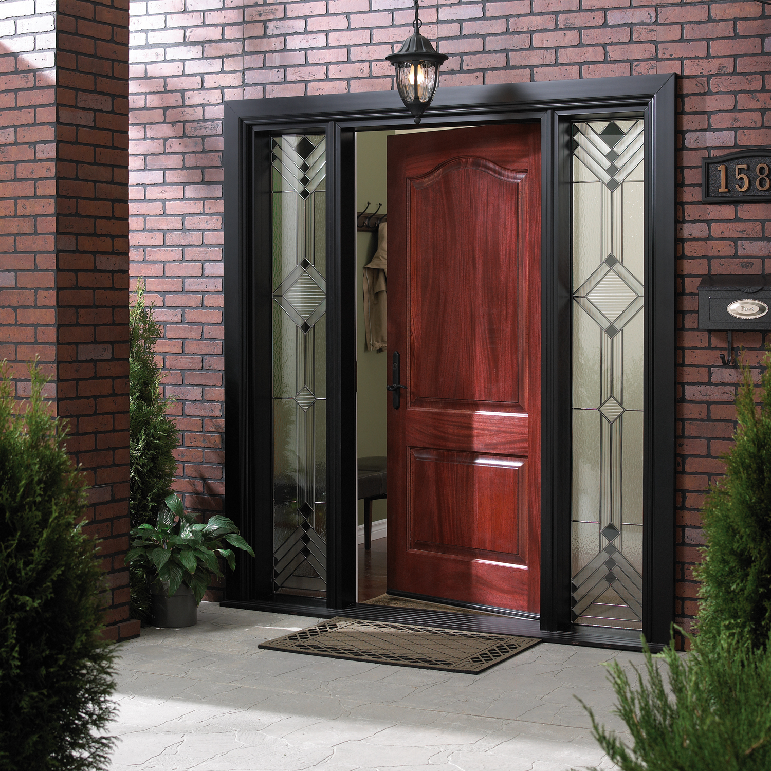 Wood Doors: Simple But Enchanting: Front Door Open