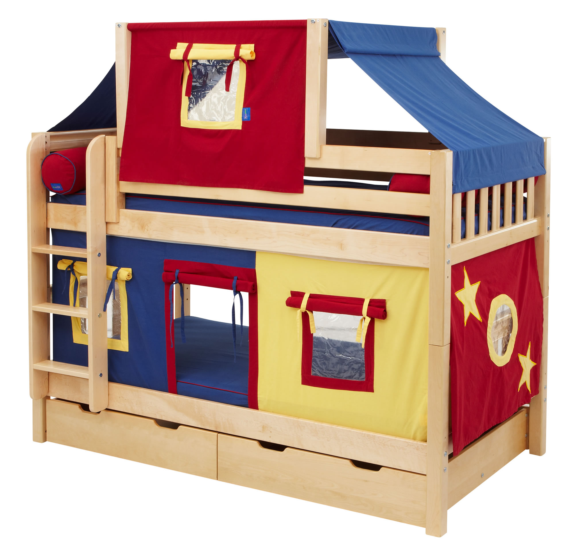 Fun Toddler Bunk Beds With Inspiring Ideas : Fun Fort Bunk Bed