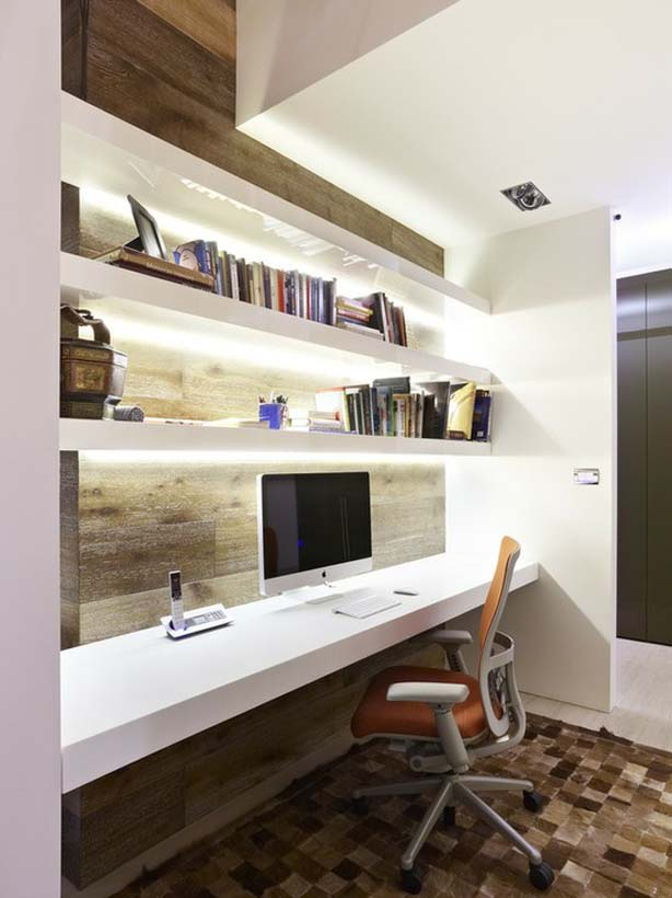 Cool Office Decorating Ideas For Men With True Beauty And Elegance: Functional Home Office Decorating Ideas For Men