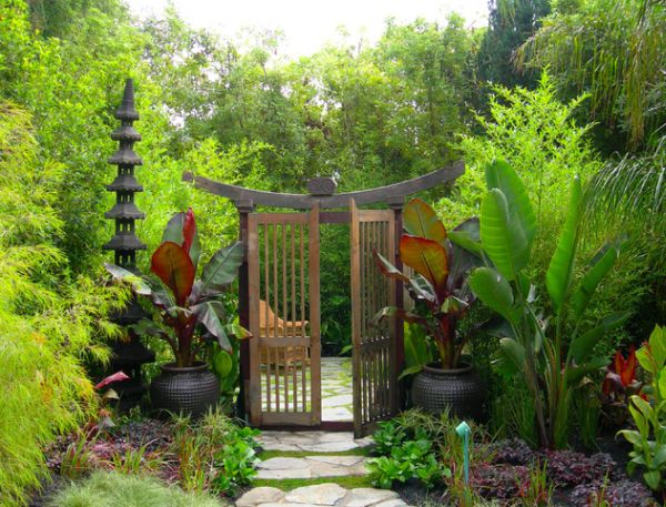28 Fascinating Japanese Garden Design Ideas : Give Your Garden A Oriental Entrance With Style Galore
