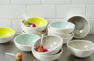 Easter Furnishing For Welcoming Prettiness Of The Spring: 21 Striking Images : Glazed Prep Bowls