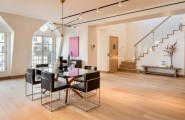 Stylish Penthouse Style Creating Comfortable Penthouse Design : Good Dinning Table At Tribeca Penthouse With Signature Design