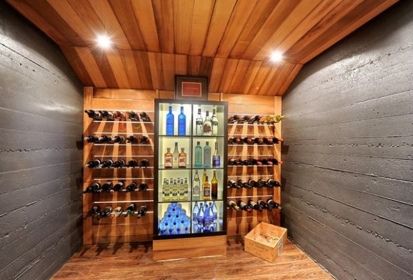 25 Designs Of Glass Door Refrigerators : Gorgeous Glass Door Refrigeration System Perfect For The Modern Wine Cellar