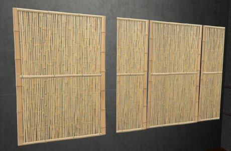Great Designs Of Bamboo Panel Idea For Your Space: Gorgeous Modern Style Bamboo Wall Panels Artistic Design Ideas