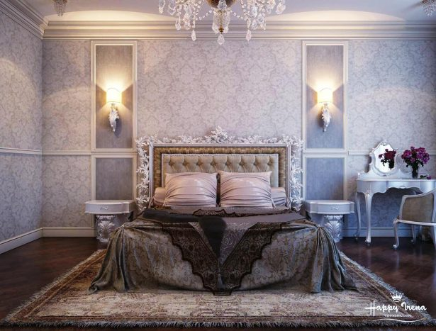 Traditional Elegant Bedroom: Classic And Dramatic: Gray White Bedroom Decor ~ stevenwardhair.com Bedroom Design Inspiration