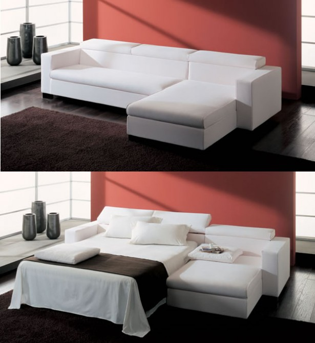Great Sofa Beds For Small Bedrooms Design: Great Sofa Beds For Small Bedrooms White Color Modern Style Sleeper Design ~ stevenwardhair.com Bedroom Design Inspiration