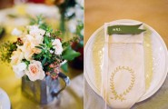 Comfortable Wedding Table With Soft Touch : Handmade Wedding Table Items