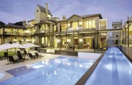Stunning Mansions With Pools Which Can Produce Relaxing Atmosphere : Hawthorn Mega Mansion With Clean Pool