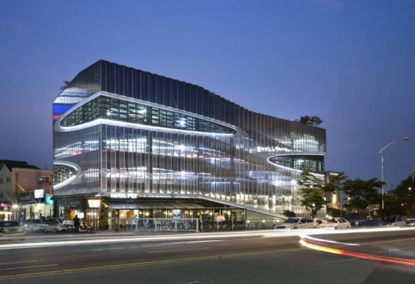 Awesome Parking Garage Designs; 11 Amazing Images: Herma Parking Building 1
