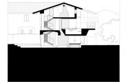Luxurious Minimalist Contemporary House : Home Elevation Layout Plan