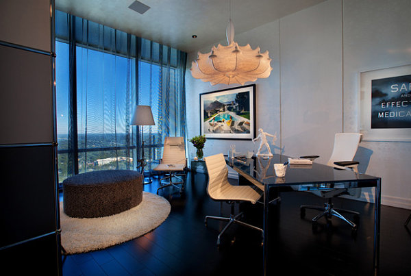 Awesome Home Office Designs Modern Ideas: Home Office With A View