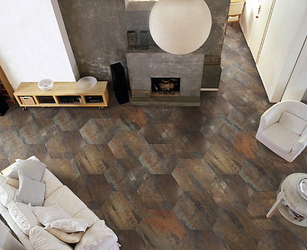 Stylish Highlight Of 12 Honeycomb Pattern : Honeycomb Floor Tile