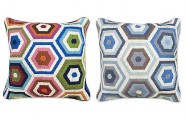 Stylish Highlight Of 12 Honeycomb Pattern : Honeycomb Pillows From Jonathan Adler