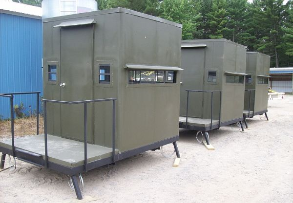 Deer Blind Window For Your Hunting Season : Horizontal Slides Deer Blind Window
