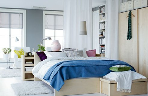 Bedroom Benches Ikea Designs : Ikea Bedroom Design With Great Bench