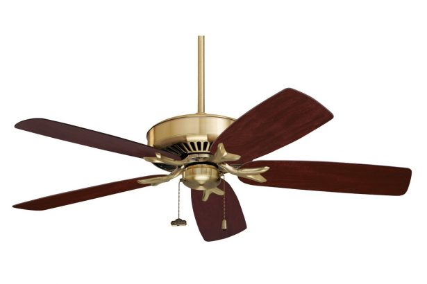 Make Artistic Sense Of Your Living Space With Unique Ceiling Fans: Indoor Ceiling Fan Features Accent Lighting To Cast A Warm ~ stevenwardhair.com Interior Design Inspiration