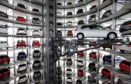 Awesome Parking Garage Designs; 11 Amazing Images : Inside Autostadt Parking Space