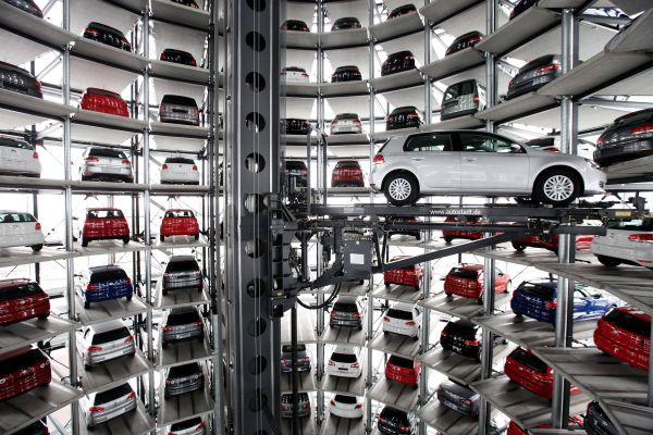 Awesome Parking Garage Designs; 11 Amazing Images: Inside Autostadt Parking Space ~ stevenwardhair.com Storages Inspiration