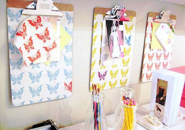 Stylist Home Office To Give Comfort For You: Inspiration Clipboards