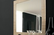 Wall Mirrors For Living Room: Doing It Right : Interesting Mirror Wall Decoration