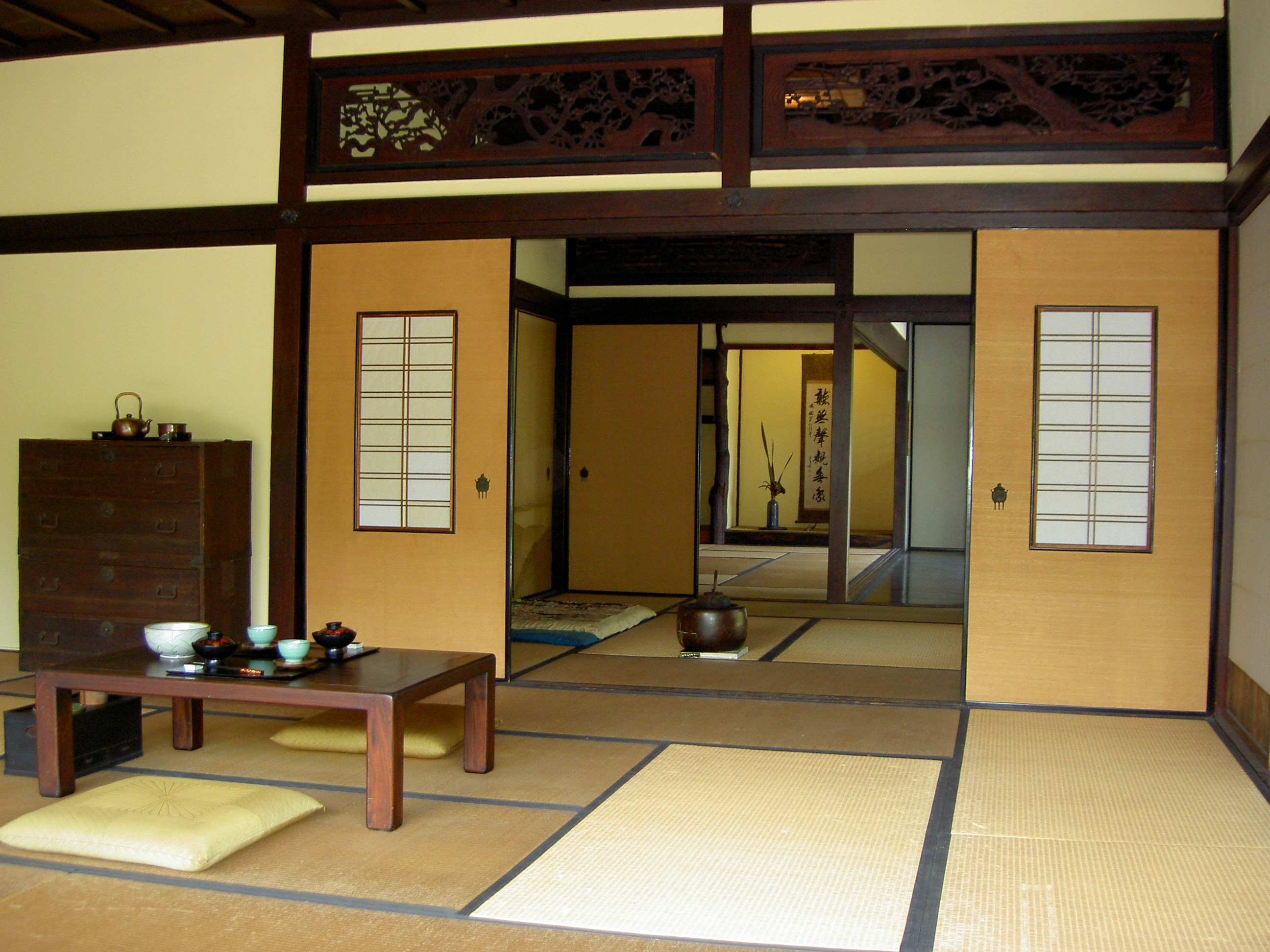 Traditional Japanese Architectures That Give You Peaceful Living Space: Interior Architecture In Japanese Minimalism
