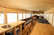 Gorgeous Ideas To Renovate Your Mobile Home : Interiors Of The Restored Mobile Bus Home