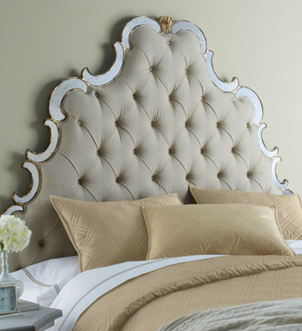 Amazing Headboard Designs For Contemporary Bedroom: Intricate Bristol Tufted Headboard