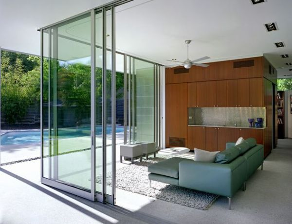 Stylish Sliding Glass Door Designs: 40 Modern Images : Invite In The Outdoors With Stylish Sliding Glass Door Walls