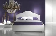 Italian Modern Bedroom Furniture With Aesthetic Drawing : Italian Fabric Platform Bed
