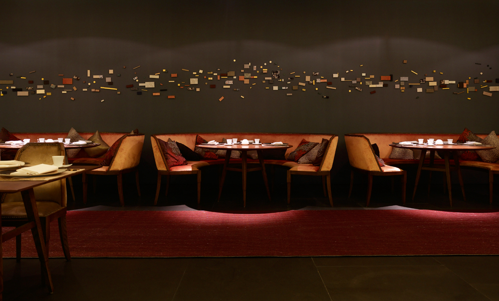 Aesthetic Asian Restaurant Interior Design With Warm Circumstance: Jing Restaurant One Fullerton Singapore