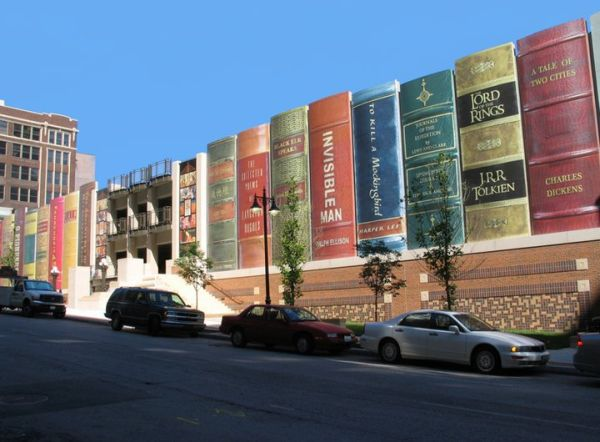 Awesome Parking Garage Designs; 11 Amazing Images : Kansas City Public Librarys Community Bookshelf 2