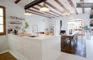 Wonderful Chic Apartment Design With The Vintage Design : Kitchen Chic Apartment Design