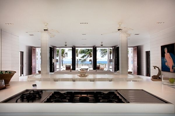 Extravagant Caribbean Villa Which Full Of Refreshment: Kitchen View