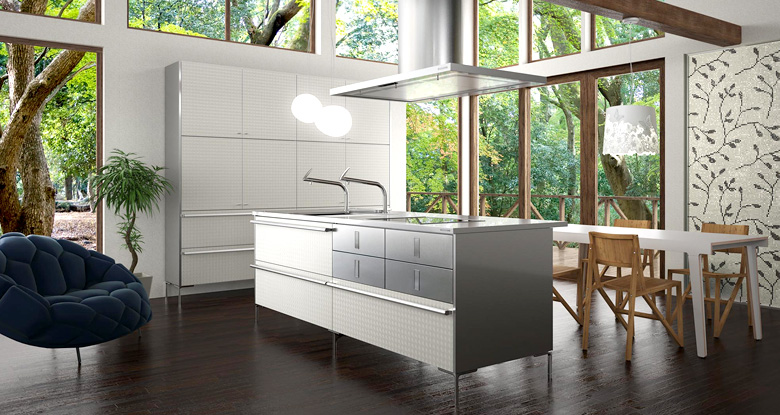 Contemporary Japanese Kitchen Design : Kitchen Wallpaper