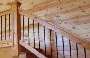 Sleek Painting Knotty Pine Paneling For Simple Traditional Home : Knotty Pine Paneling Interior