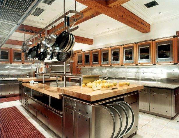 Commercial Kitchen Design For Starters: Large Kitchen With All Equipment ~ stevenwardhair.com Kitchen Designs Inspiration