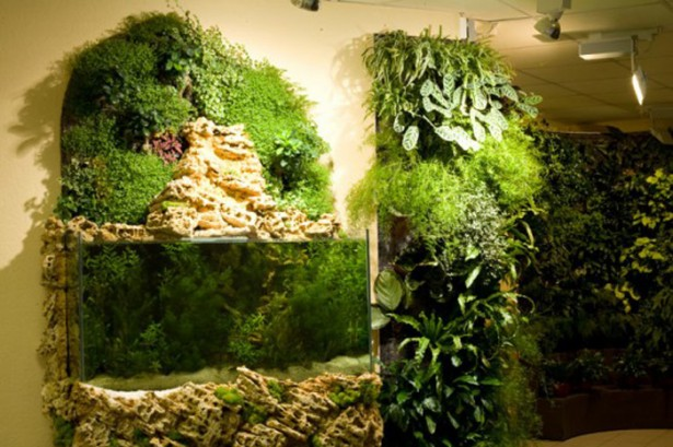 Vertical Gardening Ideas For The Small Spaced House Design: Large Portion Of Vertical Garden ~ stevenwardhair.com Outdoor Design Inspiration