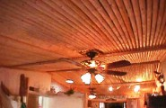 Do Up Your Culinary Space With These Kitchen Ceiling Ideas : Latilla Kitchen Ceiling Ideas
