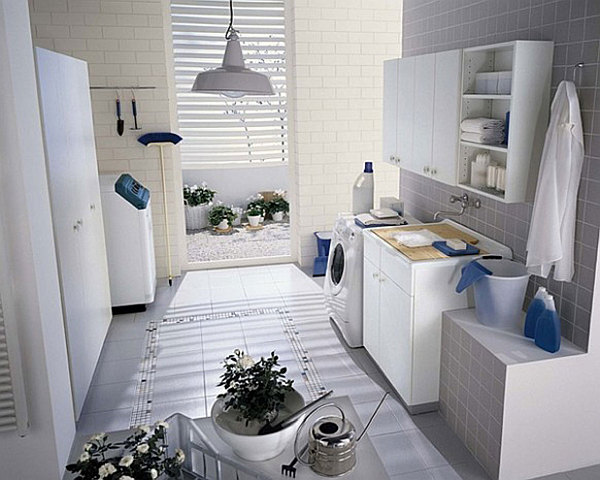 Most Unforgettable Spaces To Adorn In You Home : Laundry Room Designs