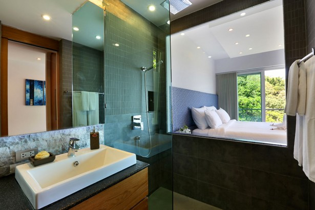 Awesome View Of Natural Villa In Phuket: Lavish Villa Beyond Interior For Bathroom With Contemporary Design Ideas ~ stevenwardhair.com Villas Inspiration