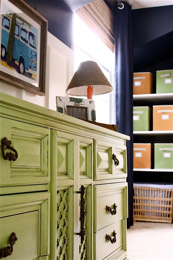 Colorful Bedroom Dressers With Bright Color Concept: Lime Green Dresser With Bronze Handles And Classic Table Lamp1 ~ stevenwardhair.com Bedroom Design Inspiration