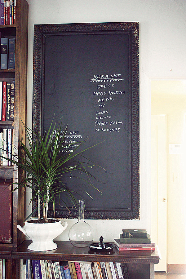 Brilliant Chalkboard Wall Designing Ideas : Living Room Chalkboard