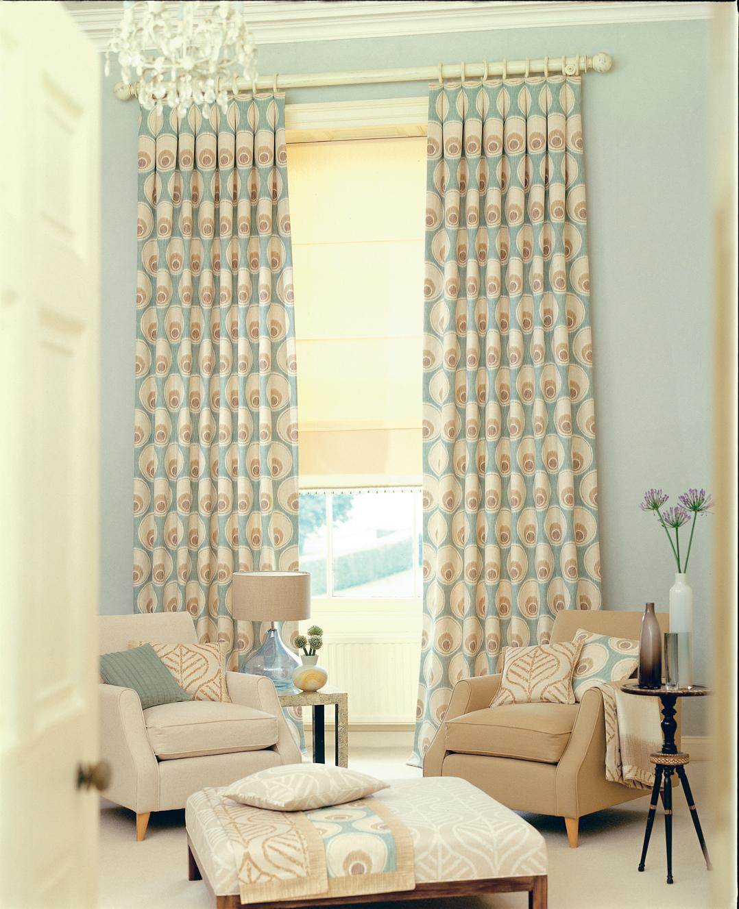 Lively Curtain Designs For Windows With Astounding Color Scheme : Living Room Curtains Ideas Are Very Good