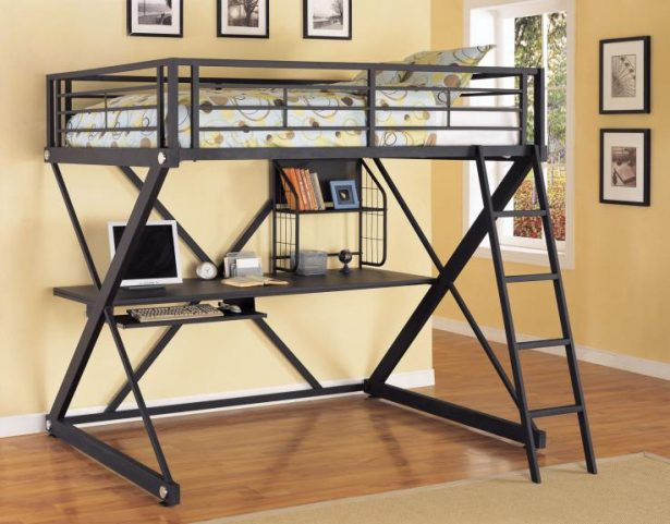 Loft Bed Desk Ideas