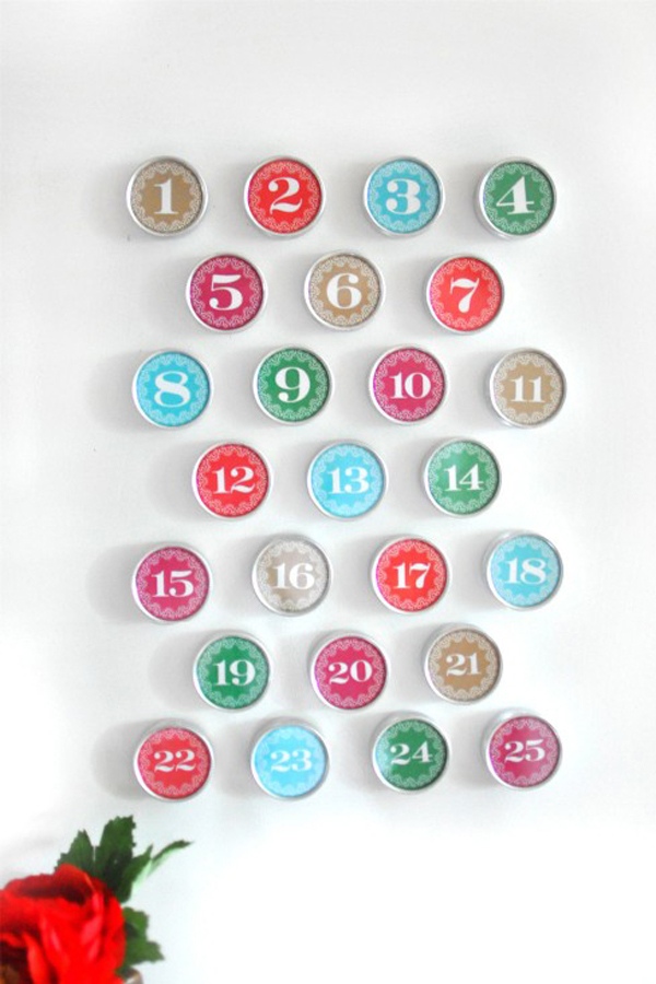 Artistic Wall Art Decoration With The Stylish Design: Magnetic Wall Calendar DIY ~ stevenwardhair.com Design & Decorating Inspiration