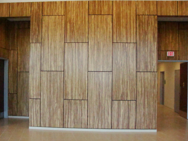 Great Designs Of Bamboo Panel Idea For Your Space: Magnificent Modern Artistic Bamboo Wall Panels Design Ideas