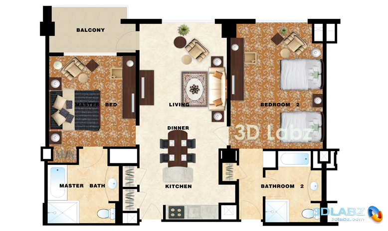 Inspiring Design A Floor Plan For Young Family House: Magnificent Modern Style Design A Floor Plan Spacious Arcitecture Style