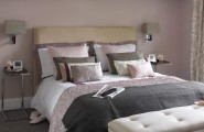 Artistic Decorative Pillows For Bed For A Cozy Sleep : Magnificent White Pink Decorative Pillows For Bed Design Ideas