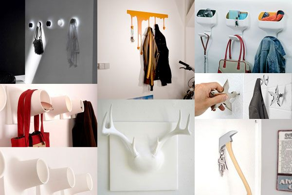 Imaginative Wall Hooks For Coats As The True Inspiring Functional Adornment: Many Wall Hook Ideas